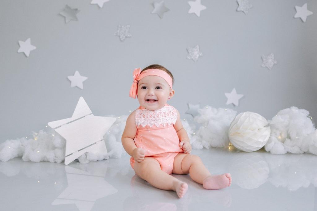 fotos de bebé de 7 a 9 meses