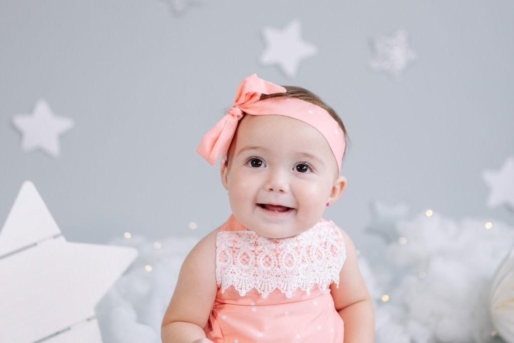 Hermosa bebé de 7 meses