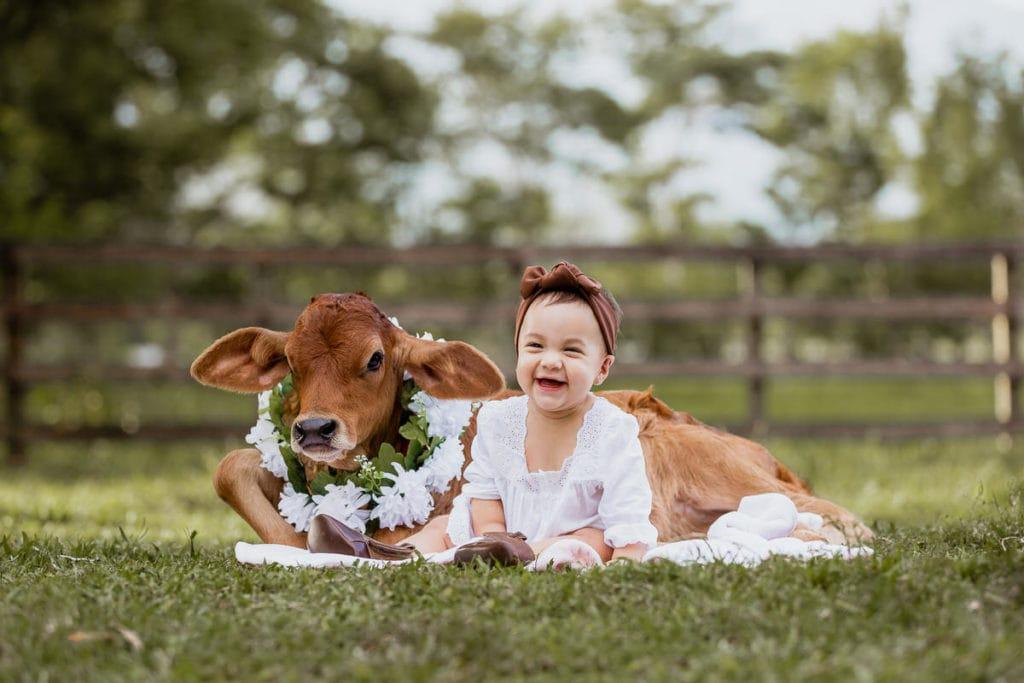fotos con bebé vaquera