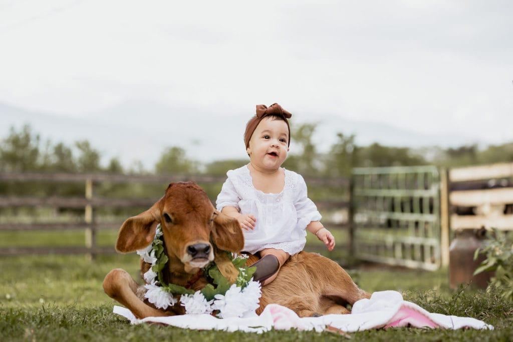 Emilina una bebbé vaquera