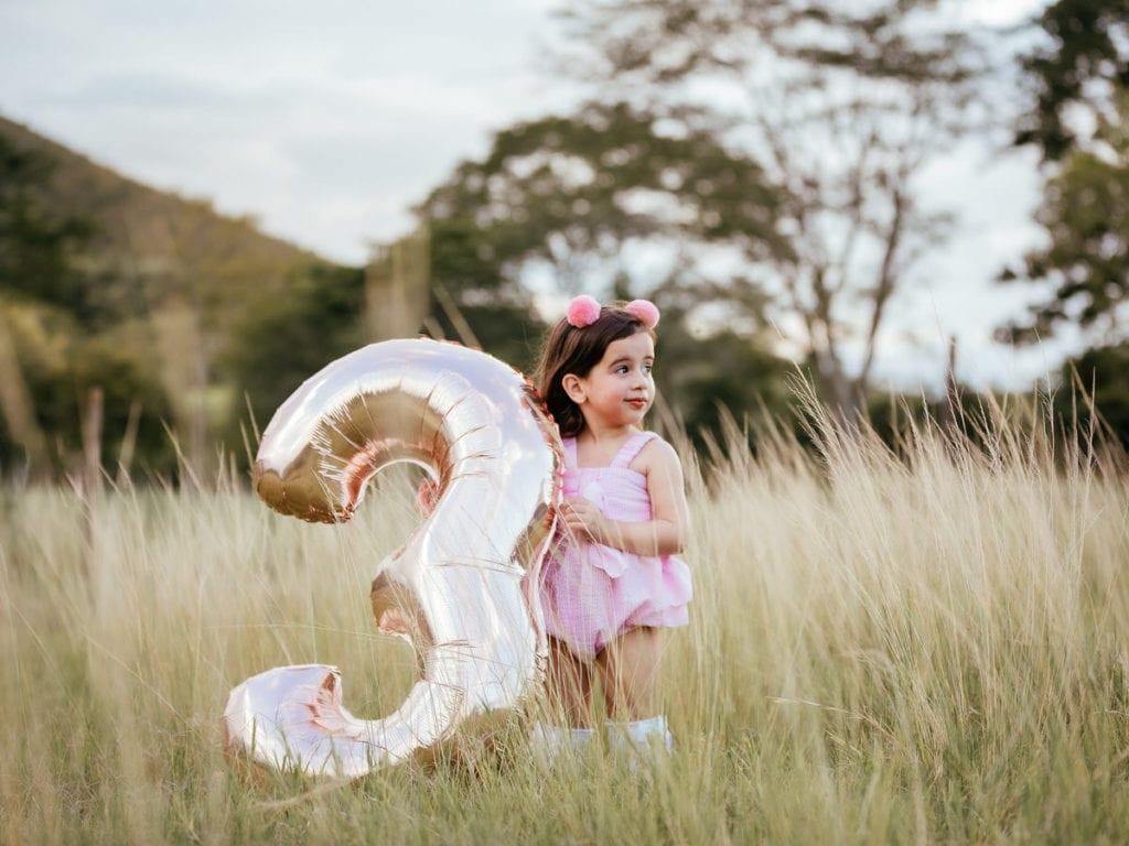 Fotos de cumpleaños en la naturaleza